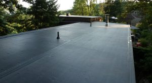new flat roof Chiswick
